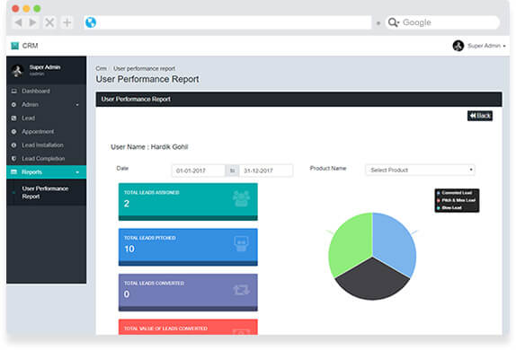 Lead Tracking & CRM Tool